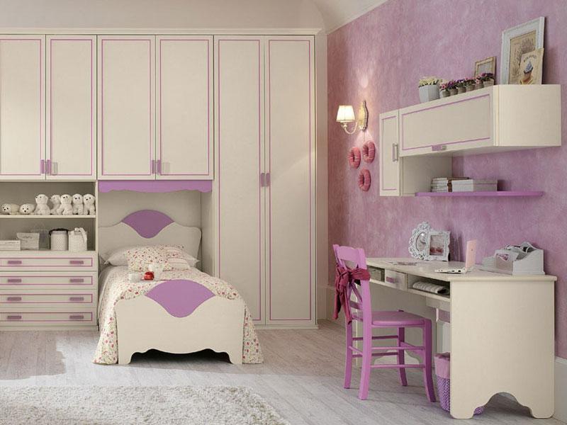 Camere da letto legno for Camerette bimbi mondo convenienza