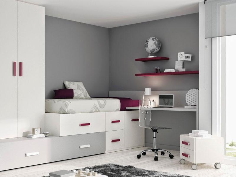 Scrivanie mondo convenienza idee per il design della casa for Camera da ragazzo moderna