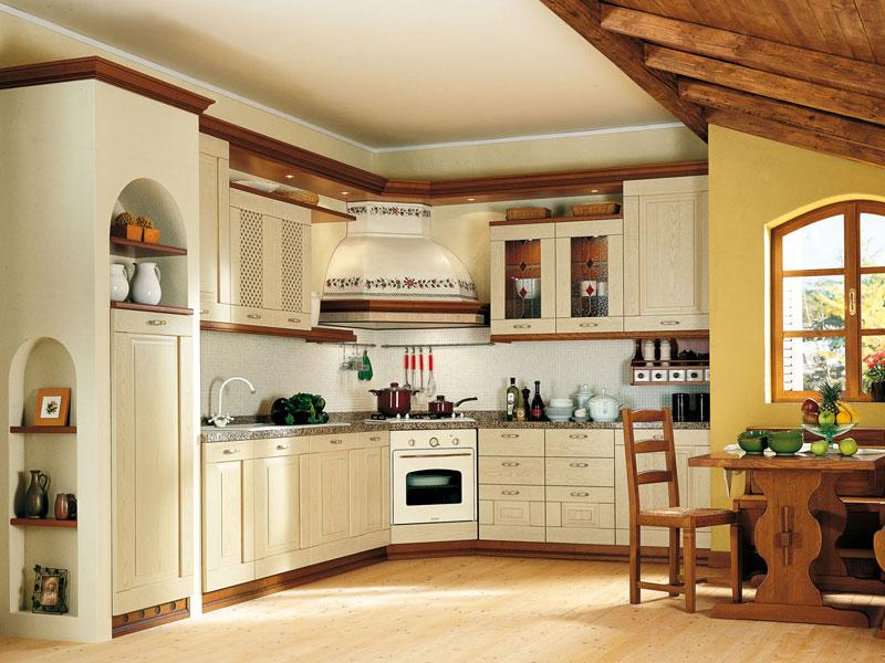 Bergamo mobili cucina in offerta e su misura scarpellini falegnameria - Immagini di cucine classiche ...