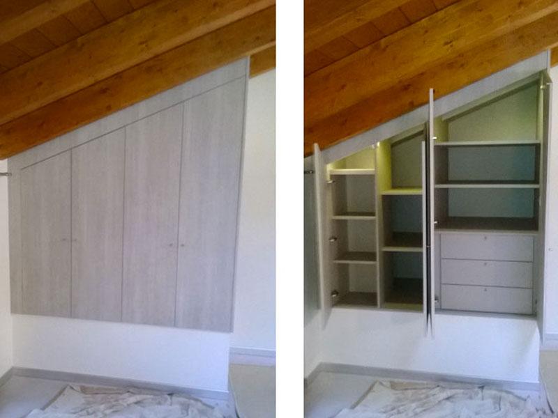 Cabine Armadio Angolari Su Misura : Armadi e cabina armadio su misura realizzazione e vendita a bergamo